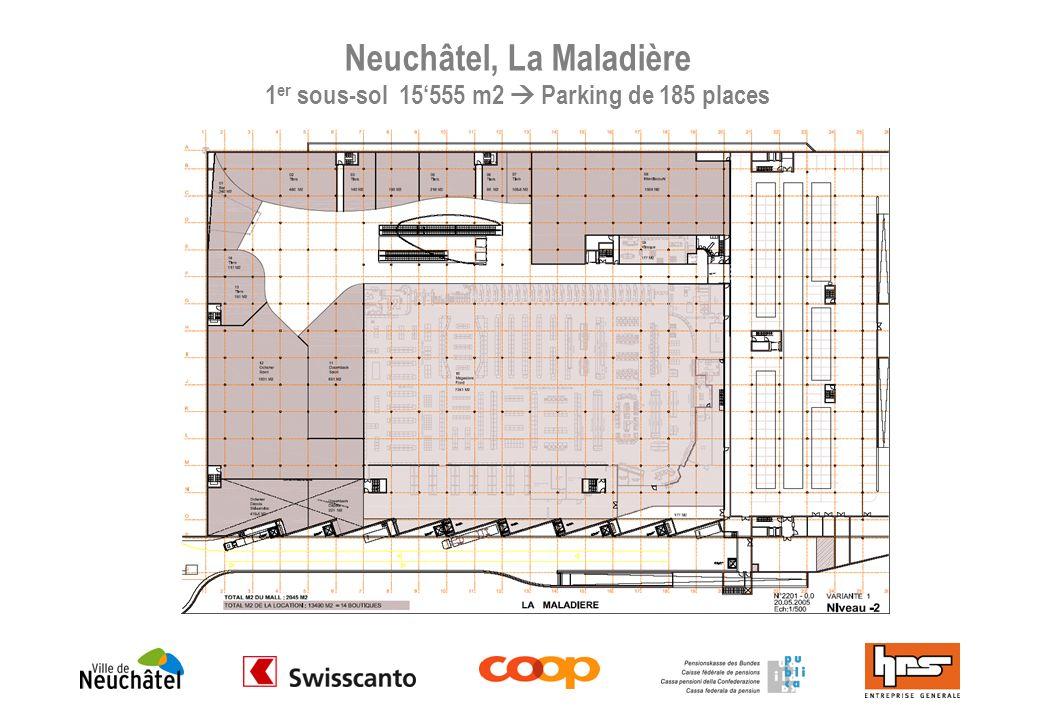 Neuchâtel, La Maladière - Rez-de-chaussée 11445 m2