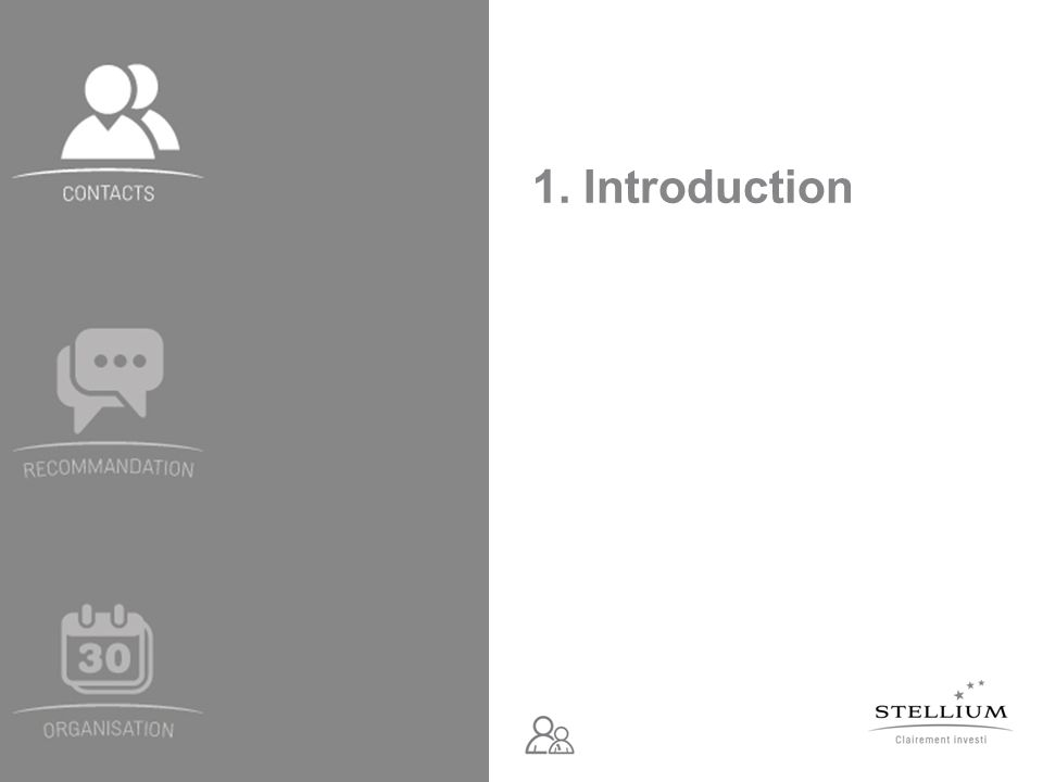 Module 1 – Atelier de démarrage - Document édité par Stellium, à destination exclusive des mandataires – Mai 2011 Lapproche directe et la recommandation multi-relationnelle