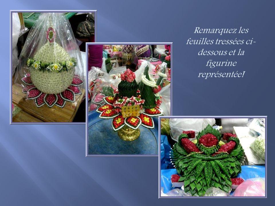 Préparation doffrandes pour cérémonies importantes!