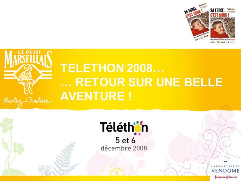Rétrospective 2008 Le Téléthon 2008 : continuer à RESISTER, REFUSER, GUERIR.