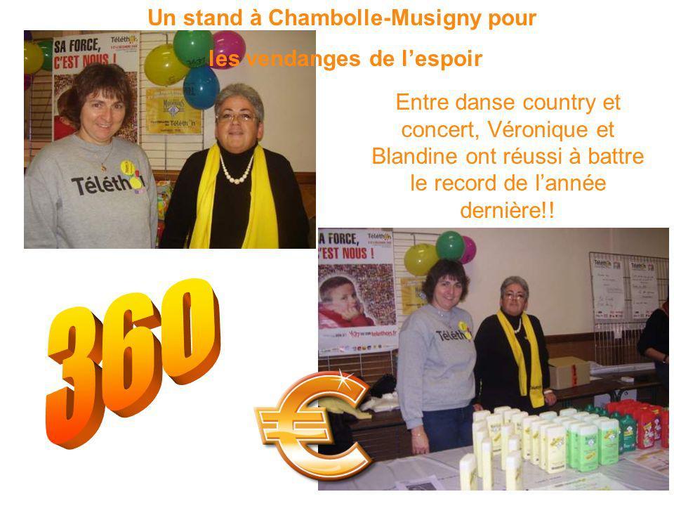 Entre danse country et concert, Véronique et Blandine ont réussi à battre le record de lannée dernière!.