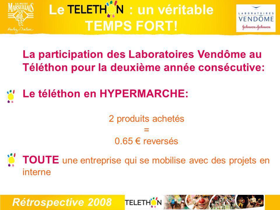 Rétrospective 2008 Le : un véritable TEMPS FORT.