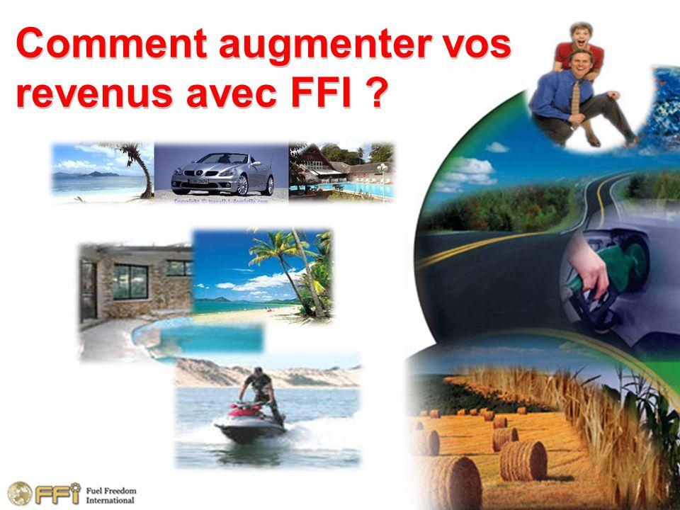Comment augmenter vos revenus avec FFI ?