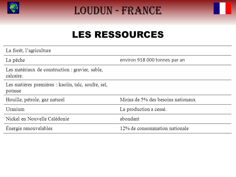LES ACTIVITÉS ÉCONOMIQUES Le PIB de la France, à 2 800 milliards de dollars, est situé en cinquième position au rang mondial, et en vingtième position pour le PIB par habitant, à 44 401 $.
