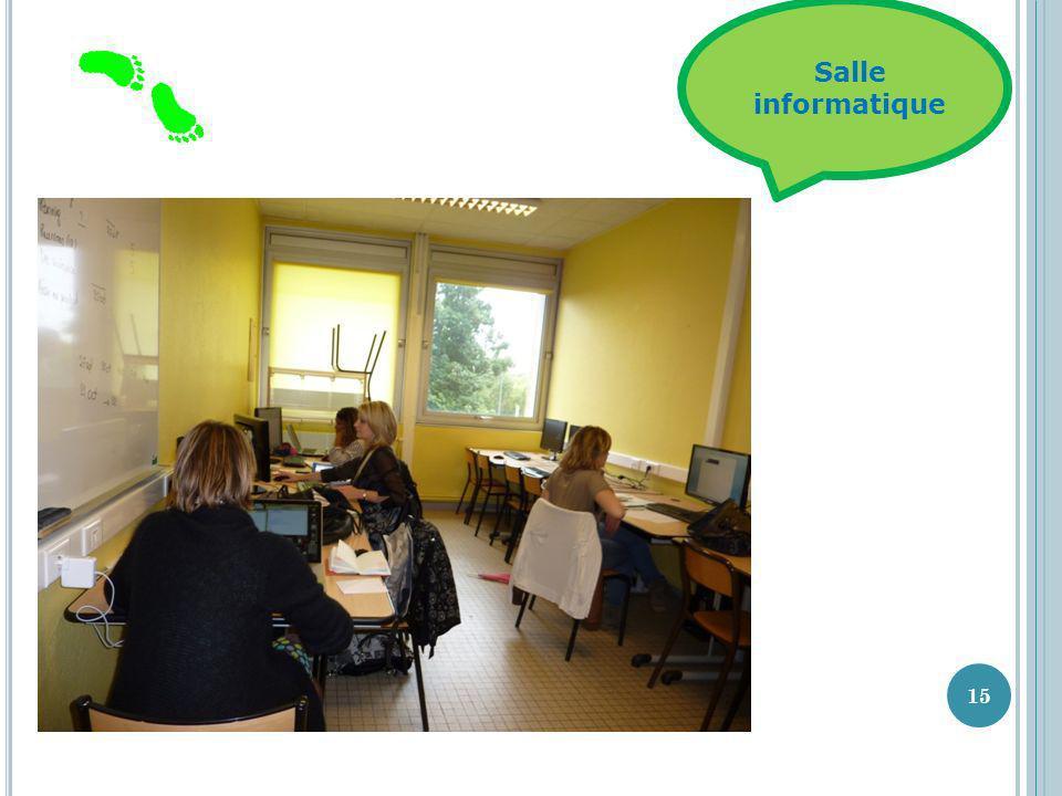 Salle informatique 15