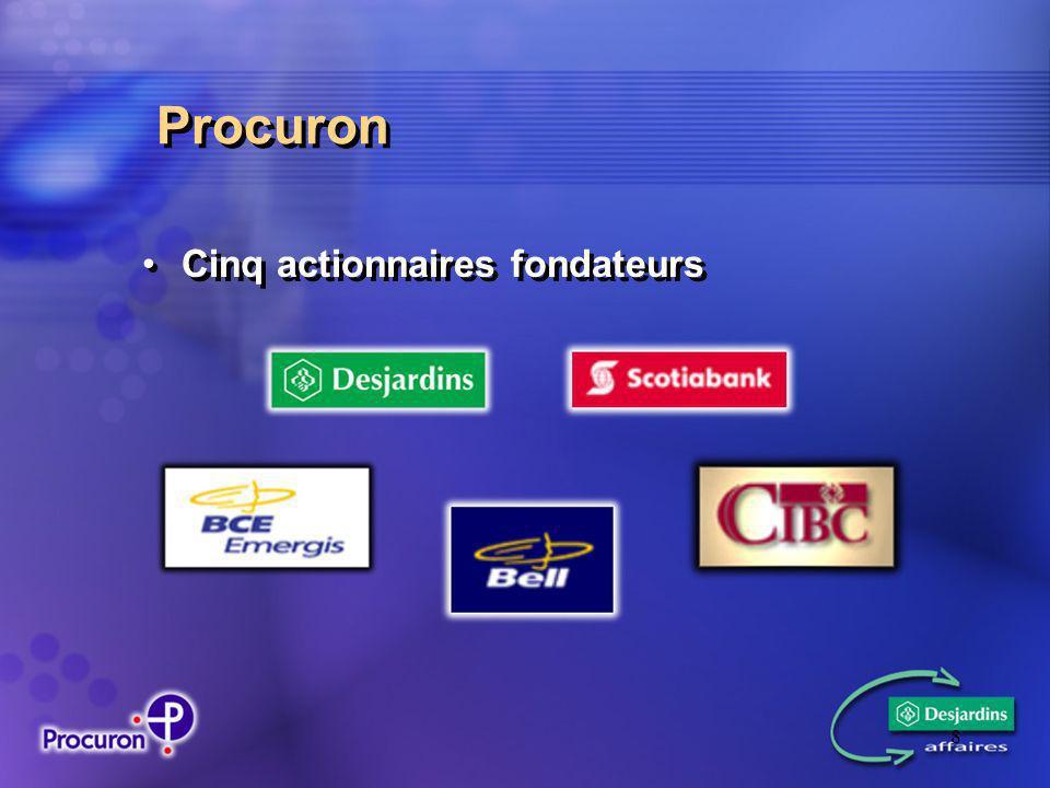 8 Procuron Cinq actionnaires fondateurs