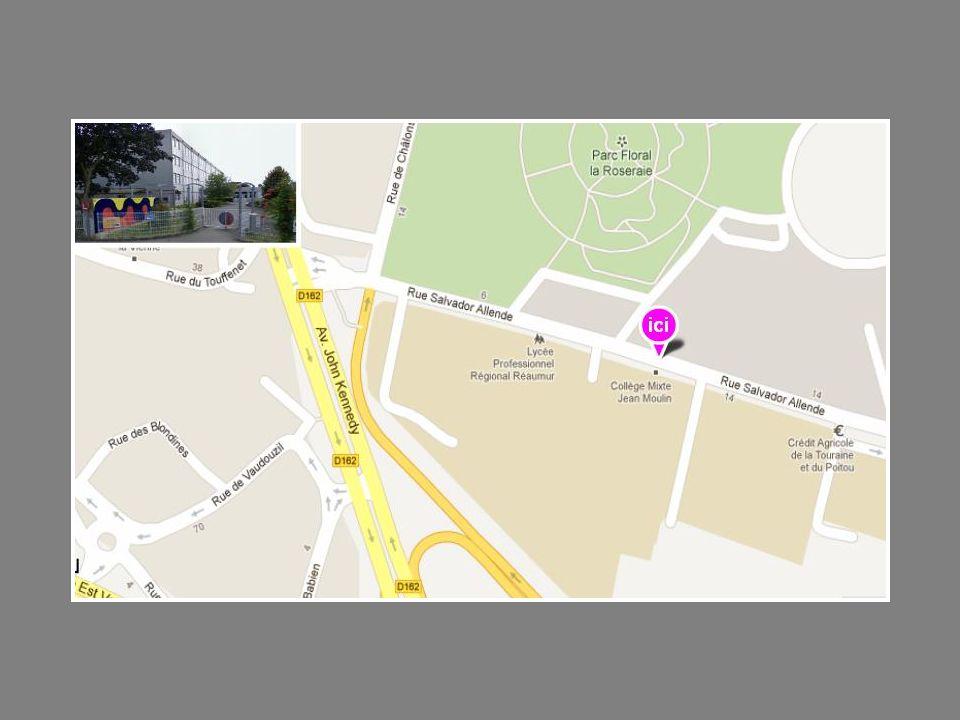 Segpa Collège France BLOCH-SERAZIN Adresse rue de Valençay 86000 Poitiers Tél.