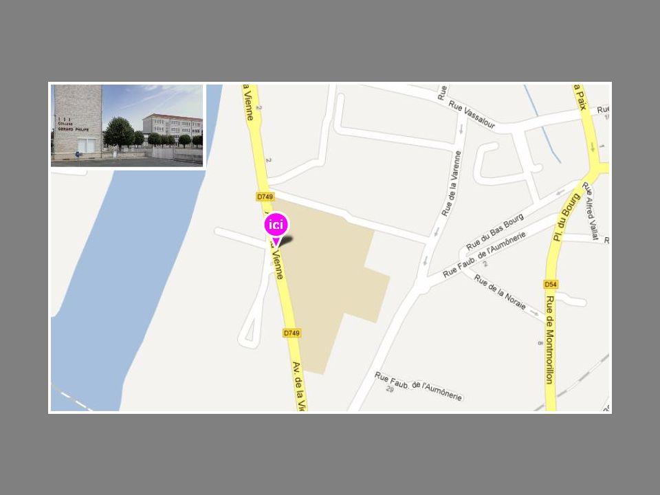 Segpa Collège Georges Sand Adresse 11 rue Arthur Ranc BP 665 86100 Châtellerault Tél.