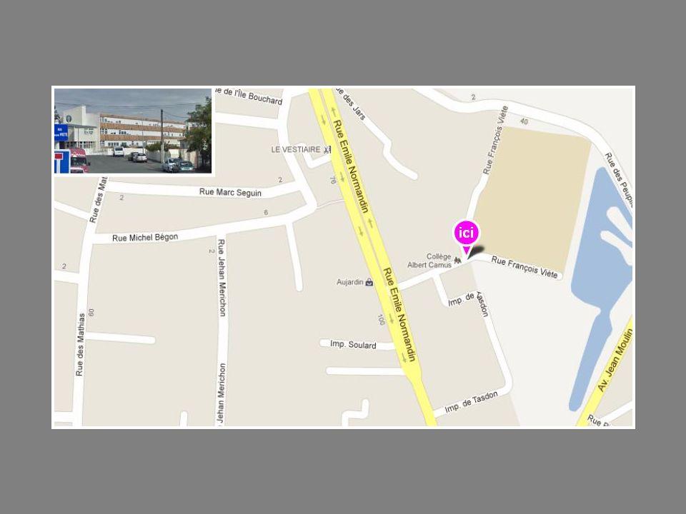 Segpa Collège Beauregard Adresse Rue de l Artillerie 17000 La Rochelle Cedex Tél.