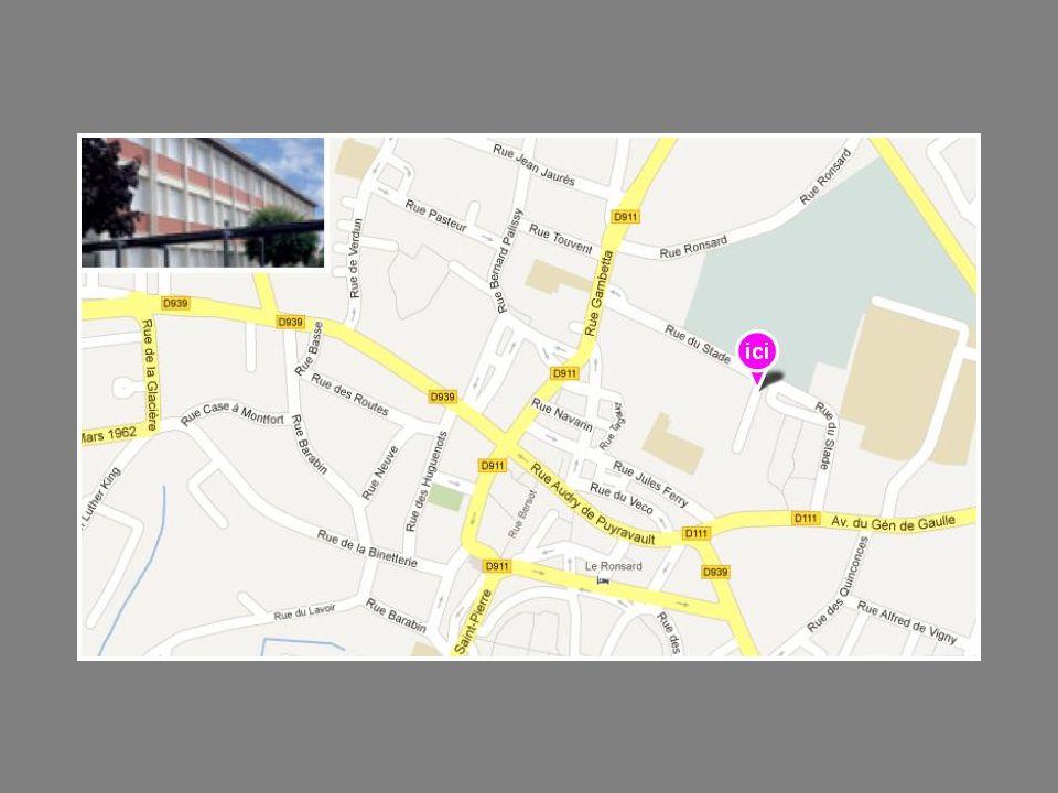 Segpa Collège La Fayette Adresse 1 Boulevard de la résistance 17300 Rochefort Tél.