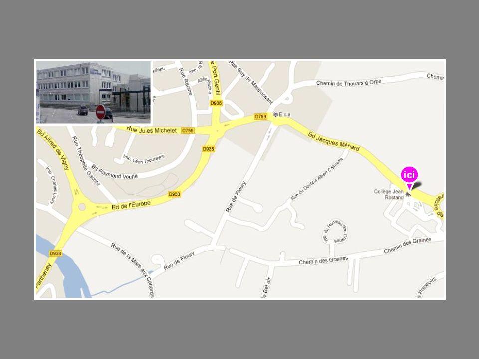 EREA Françoise Dolto – Collège/Lycée Adresse 40 rue Édouard Pied 79450 Saint Aubin le Cloud Tél.