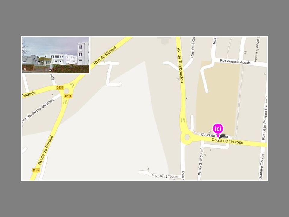 E.R.E.A.Théodore Monod Adresse 32 rue de Chermignac BP 304 17100 Saintes Tél.