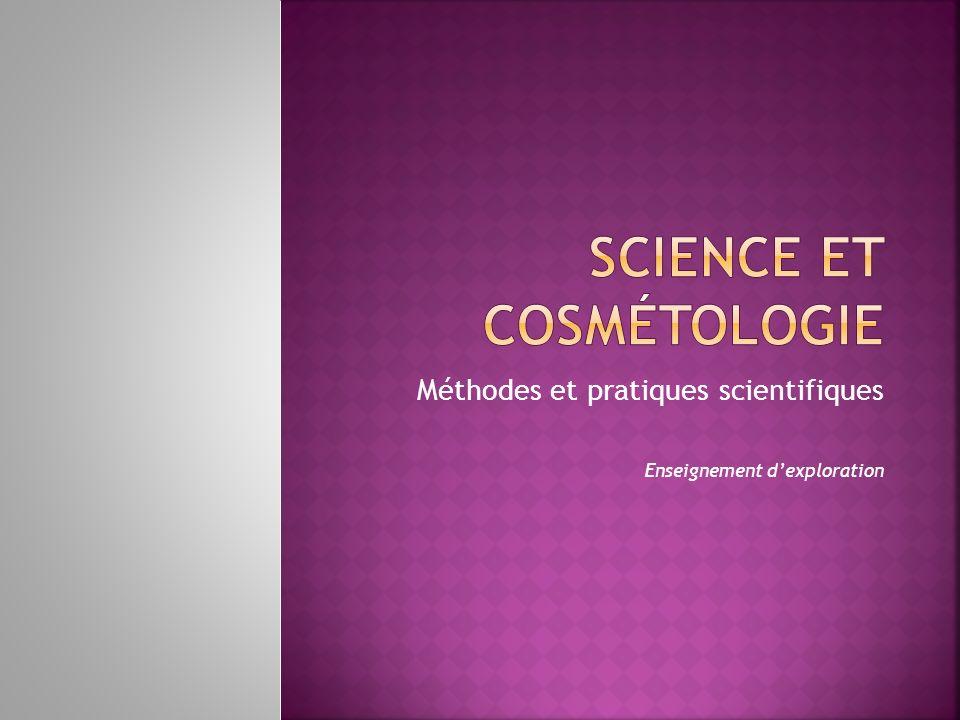Méthodes et pratiques scientifiques Enseignement dexploration