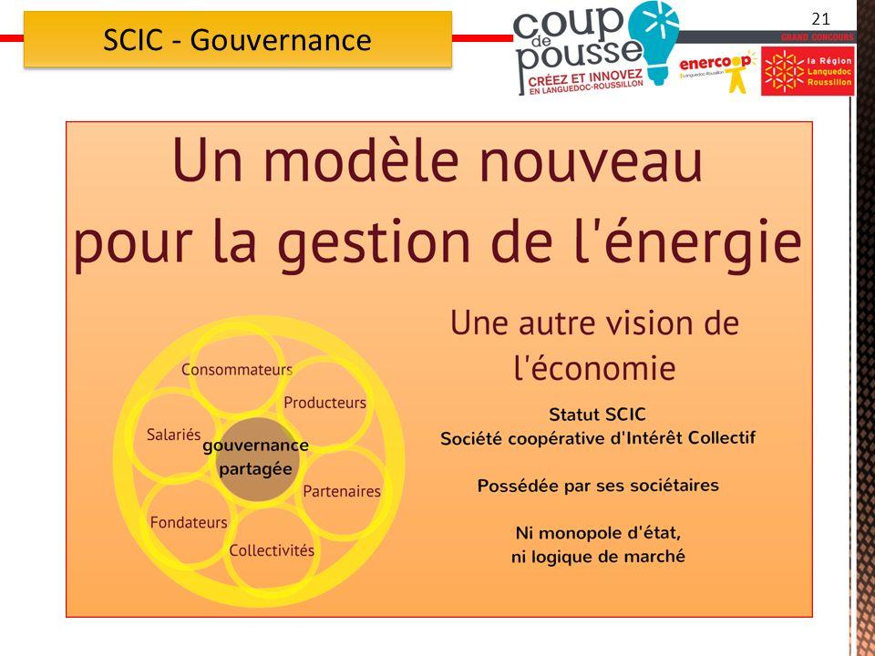 21 SCIC - Gouvernance