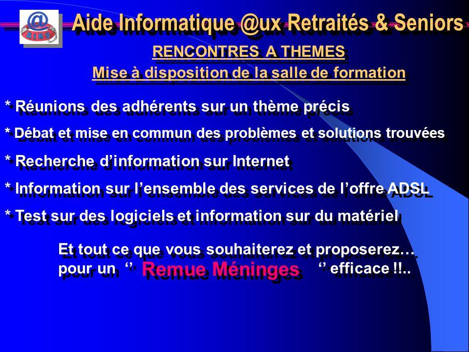 Aide Informatique @ux Retraités & Seniors 12 – Gestion portefeuille boursier Objectif : Pouvoir créer et gérer un portefeuille fictif ou réel. Pré-req