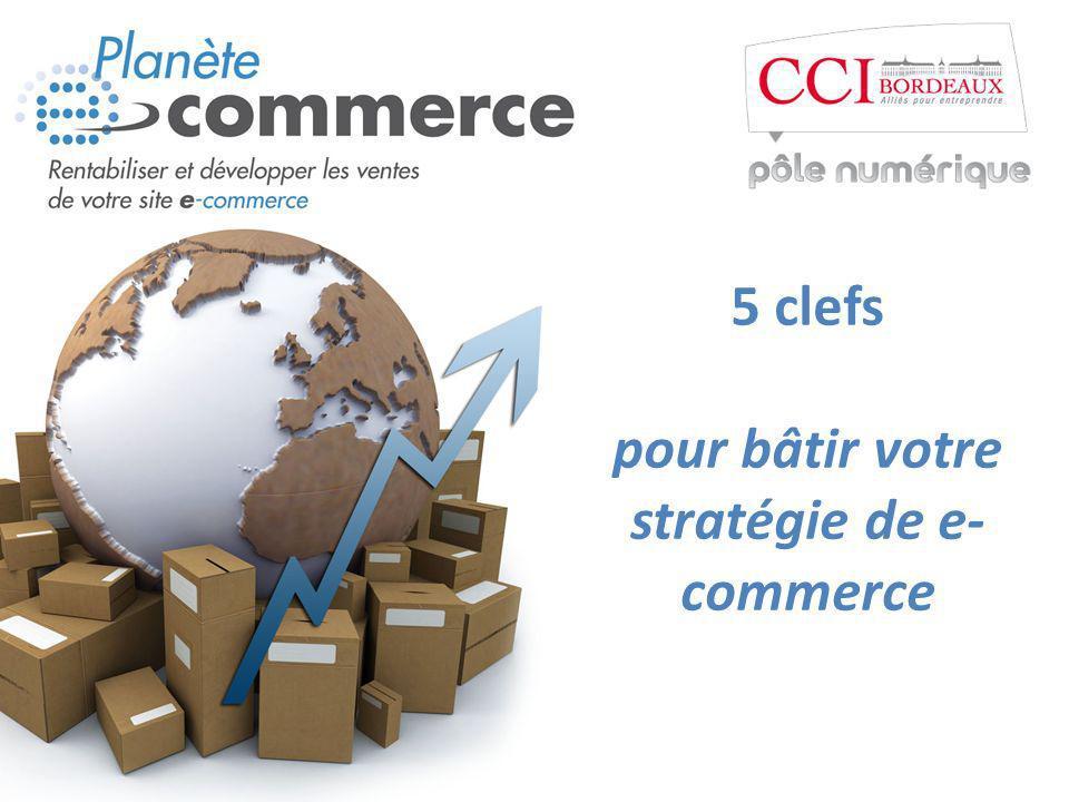 5 clefs pour bâtir votre stratégie de e- commerce