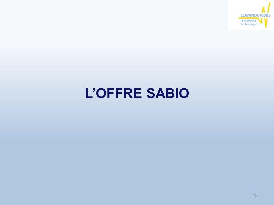 LOFFRE SABIO 13