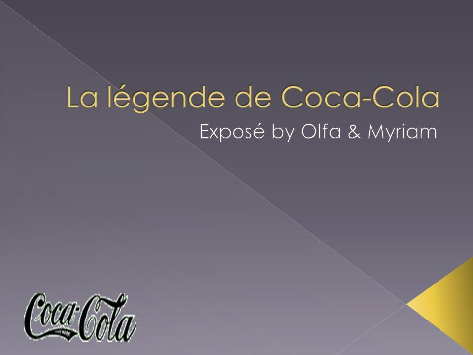 Le coca-cola anciennement appelé « New coke » a été inventé le 8 mai 1886 par le docteur John Styth Pemberton (un pharmacien) qui en voulant trouver une nouvelle boisson original et gazeuse, inventa un sirop a base de noix de cola, de sucre caféine, de feuille de coca et dextrait végétaux.