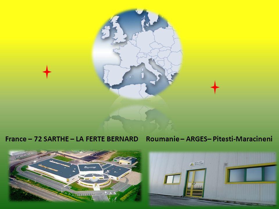 France – 72 SARTHE – LA FERTE BERNARDRoumanie – ARGES– Pitesti-Maracineni