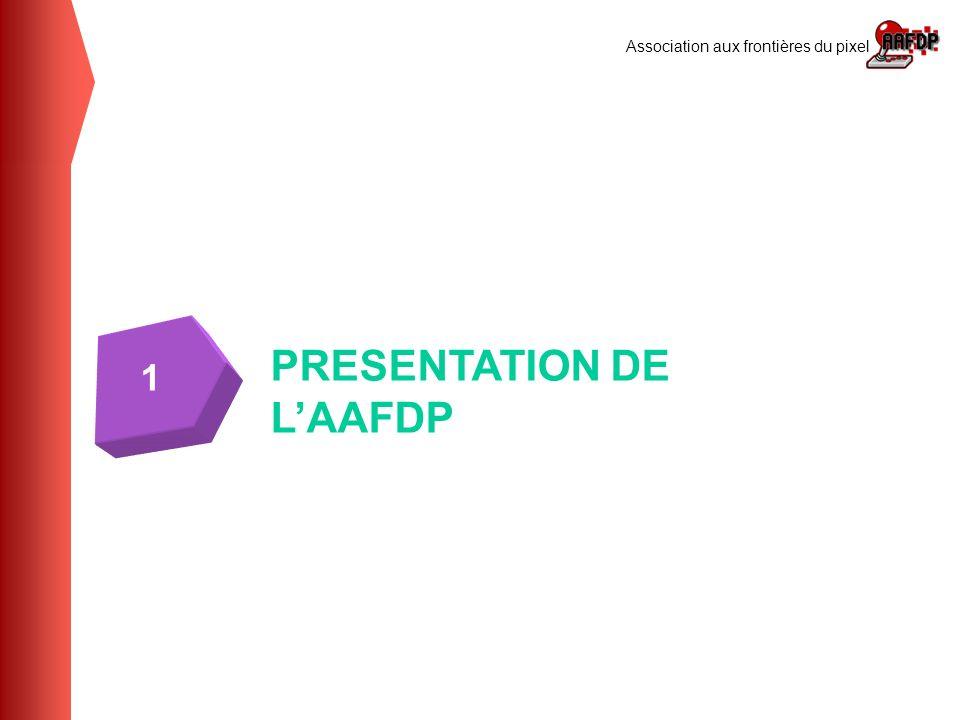 Association aux frontières du pixel PRESENTATION DE LAAFDP 1