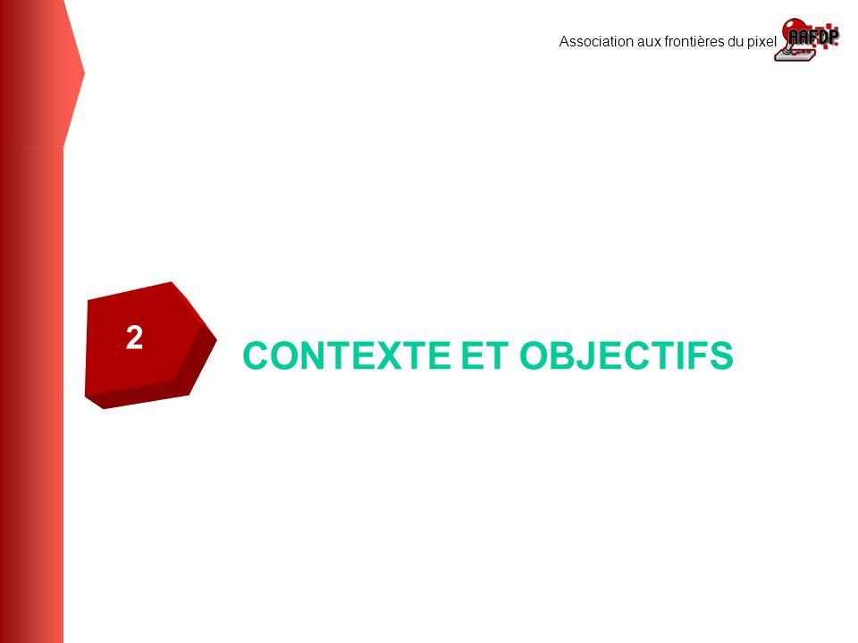 Association aux frontières du pixel CONTEXTE ET OBJECTIFS 2