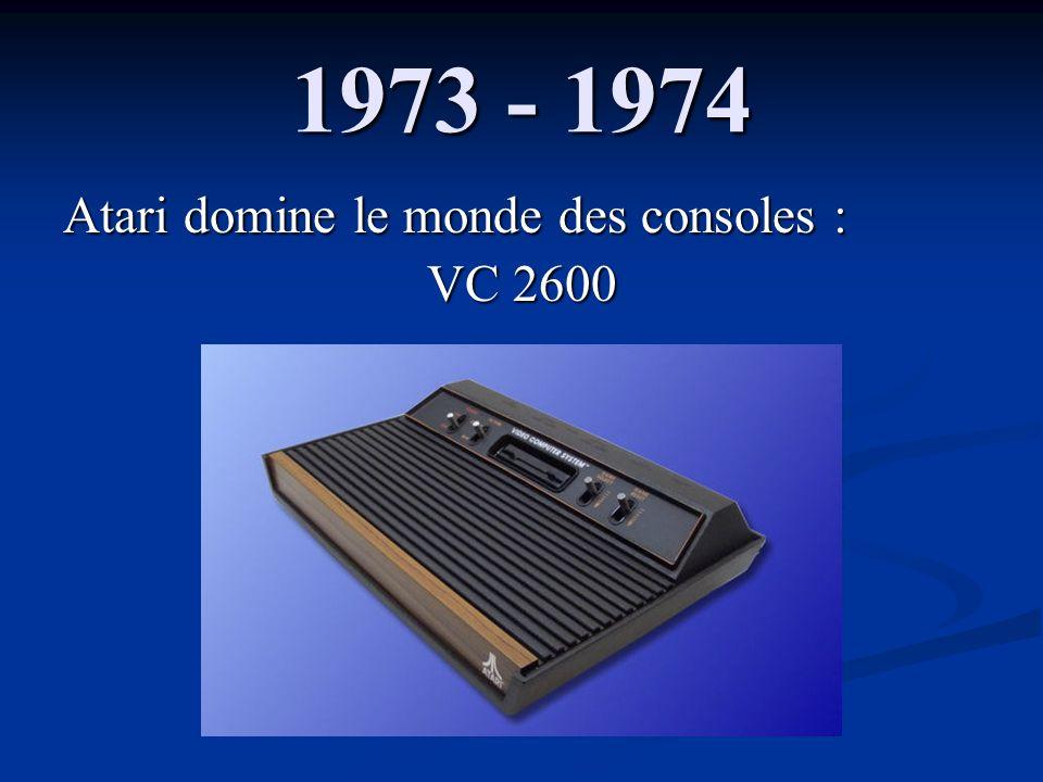 Atari domine le monde des consoles : VC 2600