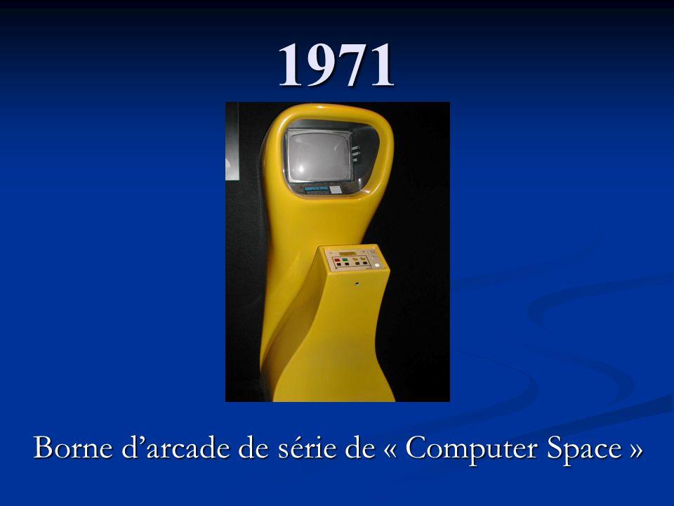 1971 Borne darcade de série de « Computer Space »