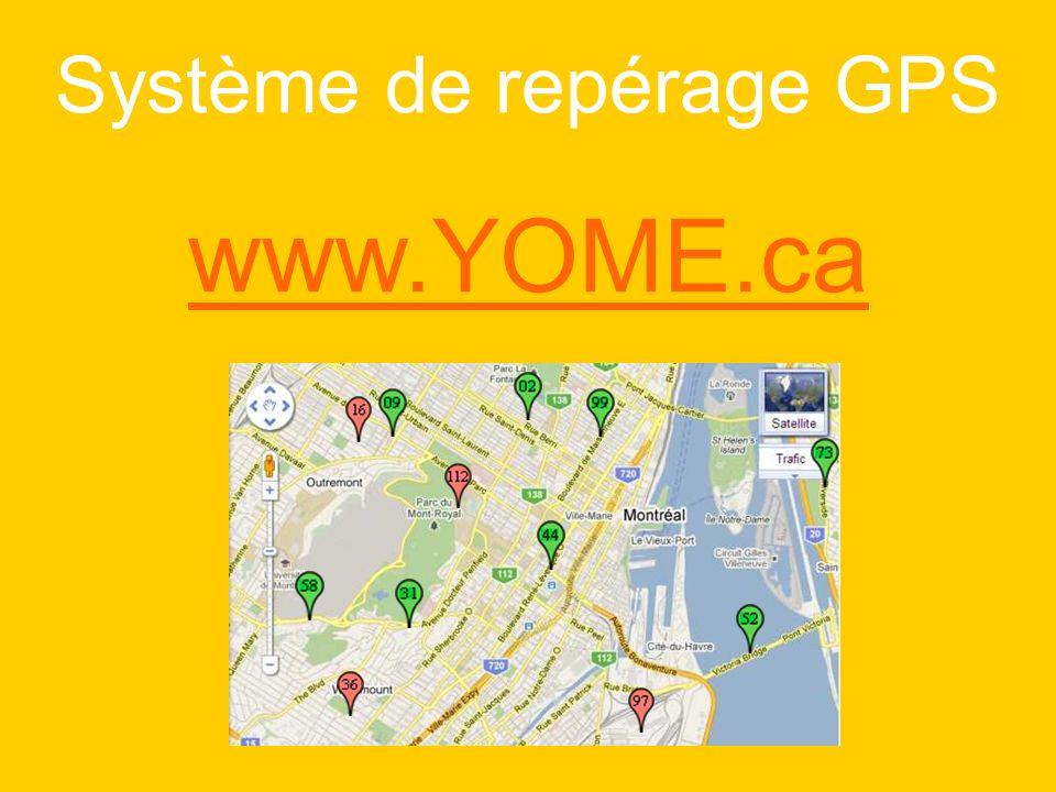 Système de repérage GPS www.YOME.ca
