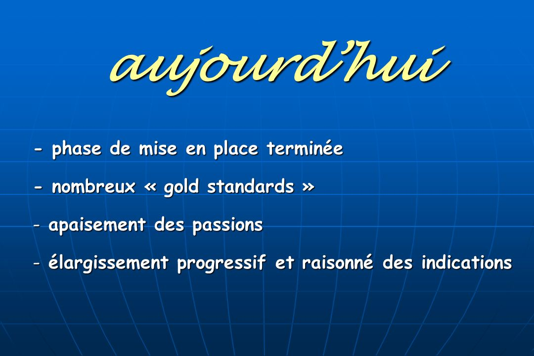 3- indications 3 groupes