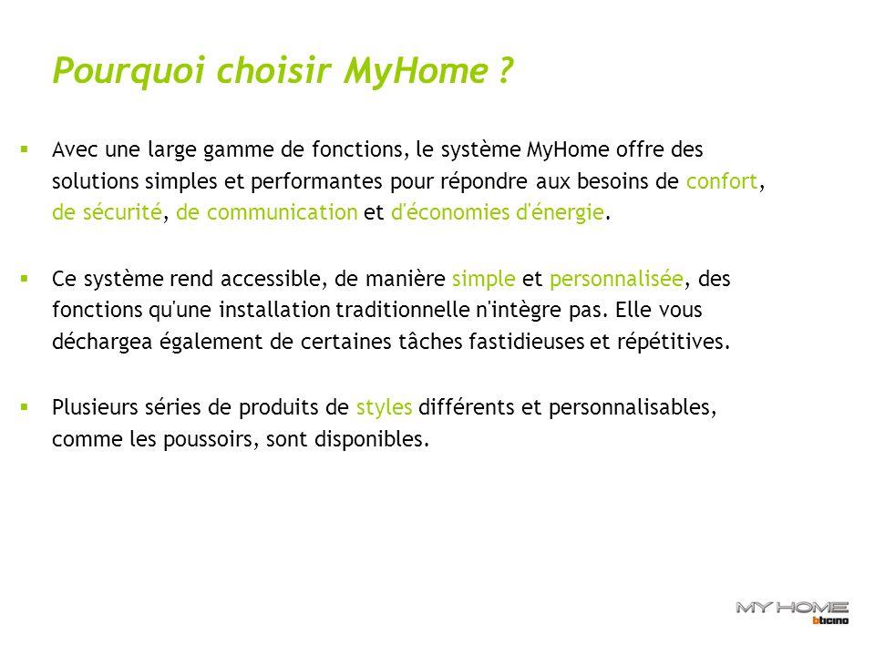 Pourquoi choisir MyHome .