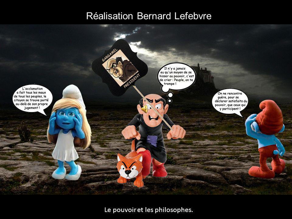 Réalisation Bernard Lefebvre Le pouvoir et les philosophes.