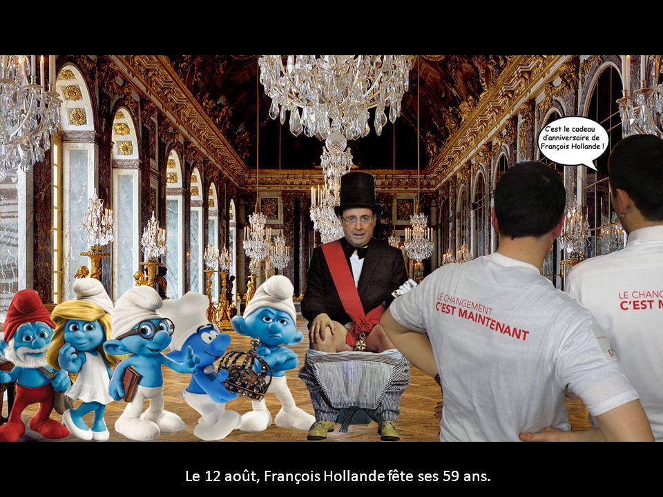Le 12 août, François Hollande fête ses 59 ans.