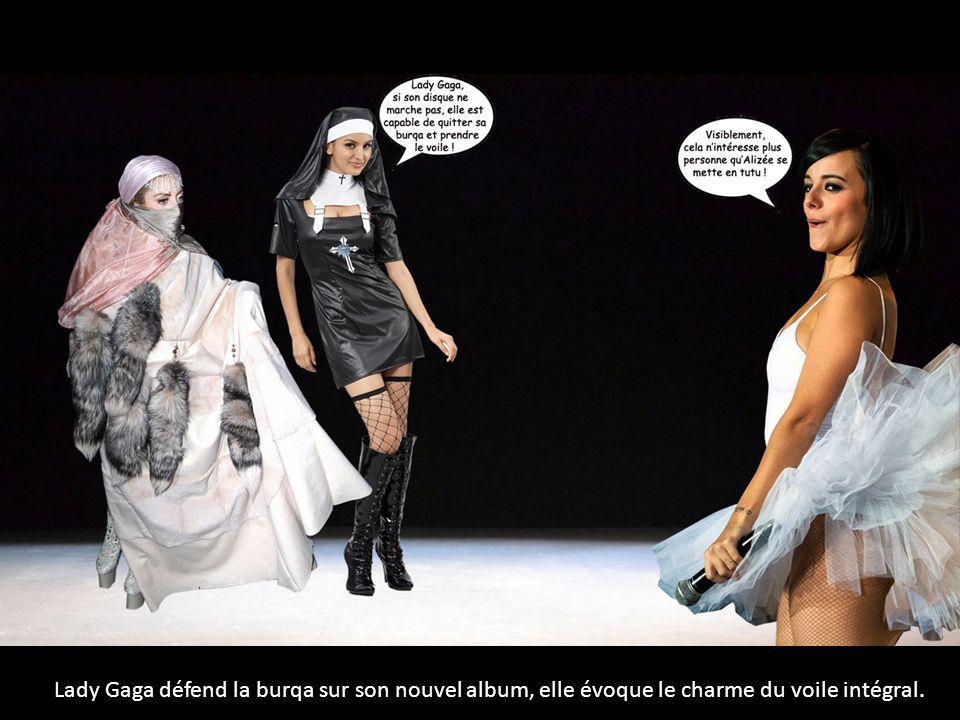 Lady Gaga défend la burqa sur son nouvel album, elle évoque le charme du voile intégral.