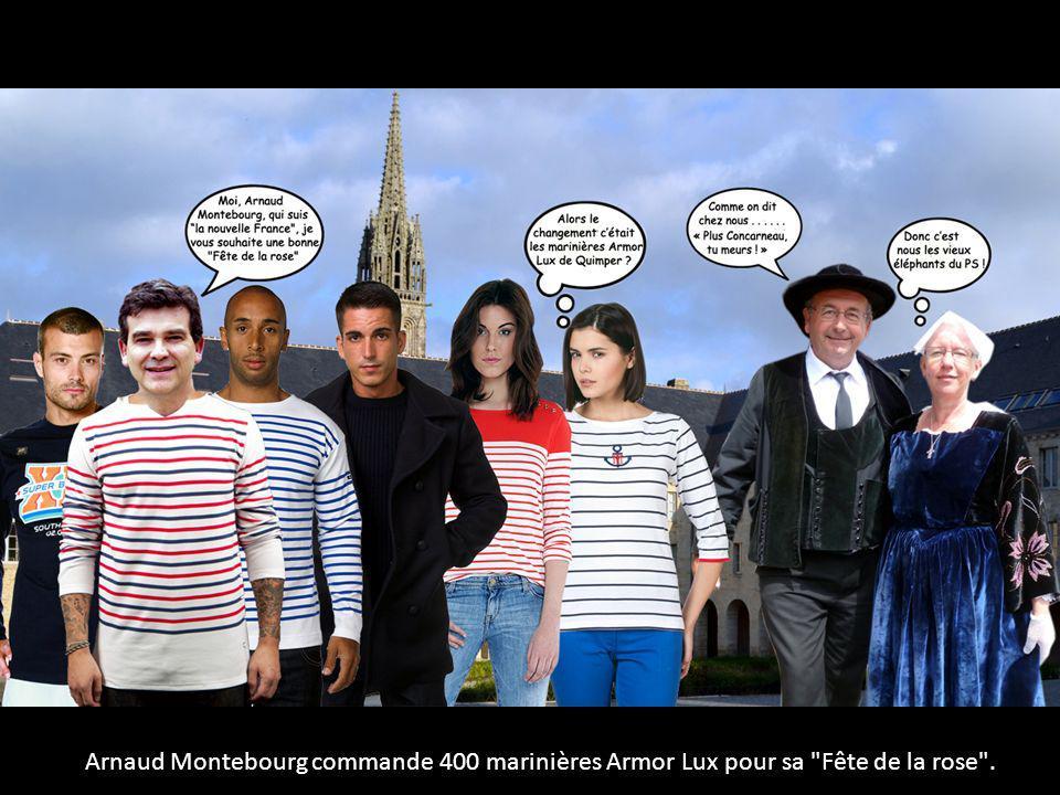 Arnaud Montebourg commande 400 marinières Armor Lux pour sa