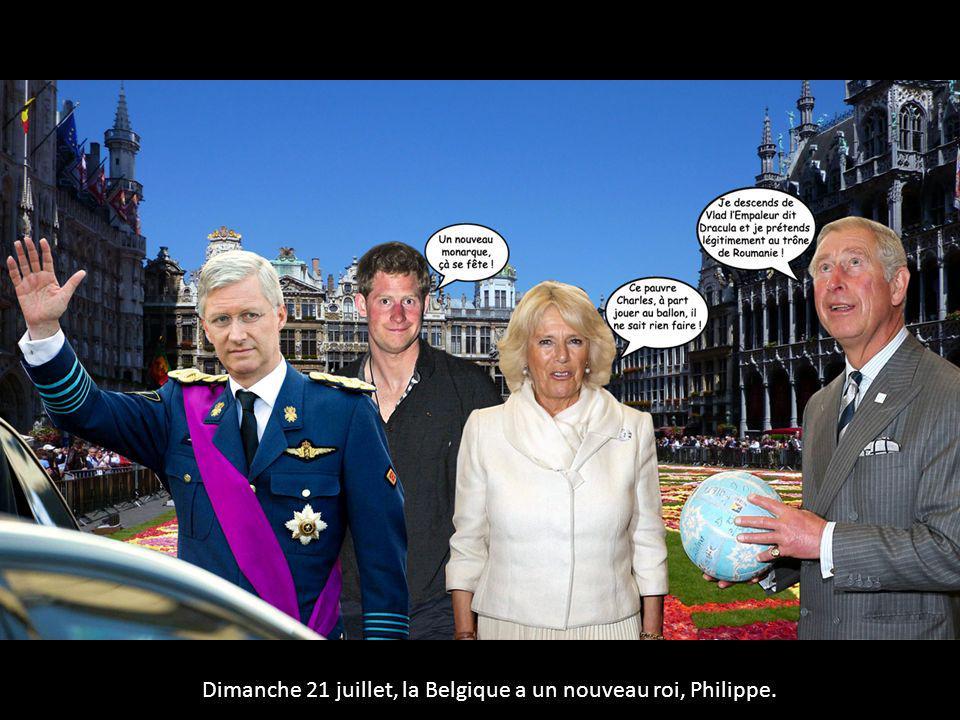 Dimanche 21 juillet, la Belgique a un nouveau roi, Philippe.