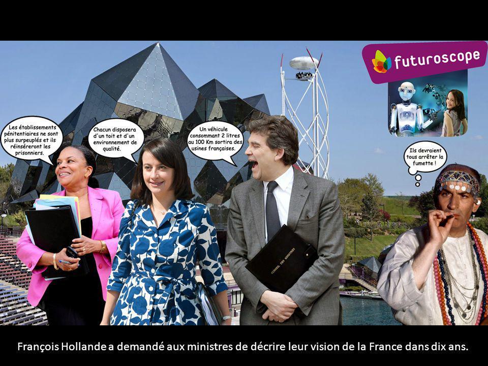 François Hollande a demandé aux ministres de décrire leur vision de la France dans dix ans.