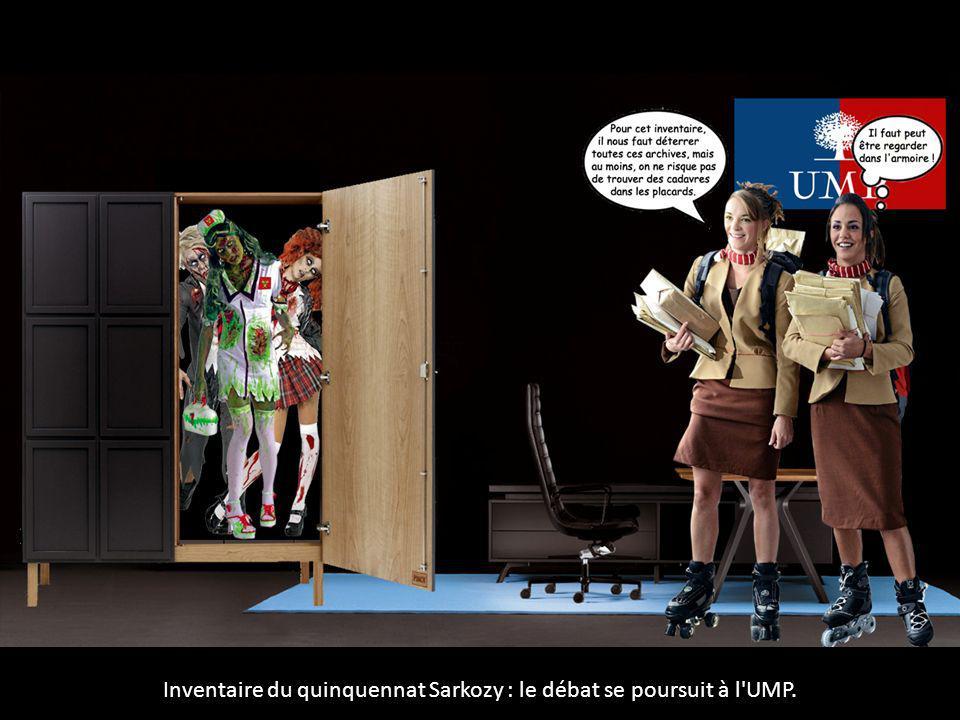 Inventaire du quinquennat Sarkozy : le débat se poursuit à l'UMP.