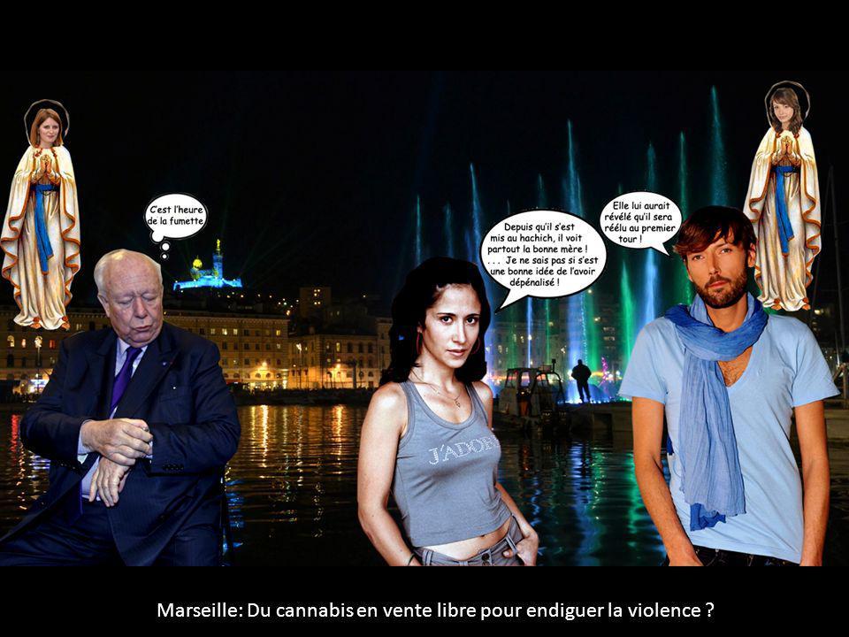 Marseille: Du cannabis en vente libre pour endiguer la violence ?