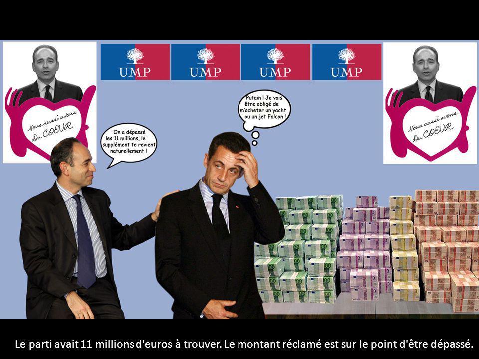 Le parti avait 11 millions d'euros à trouver. Le montant réclamé est sur le point d'être dépassé.