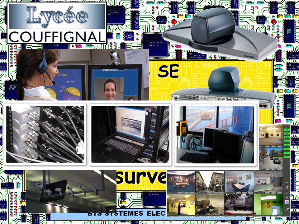 BTS SE Systèmes E5 Visioconférence et vidéosurveillance BTS SYSTEMES ELECTRONIQUES
