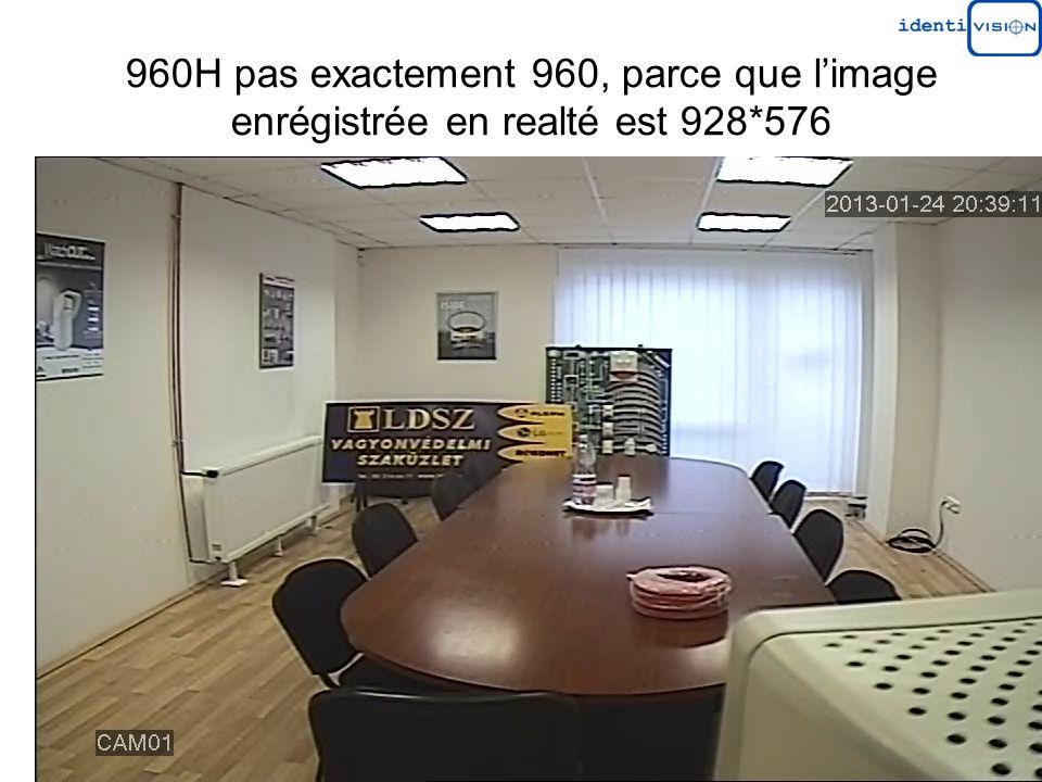 960H pas exactement 960, parce que limage enrégistrée en realté est 928*576