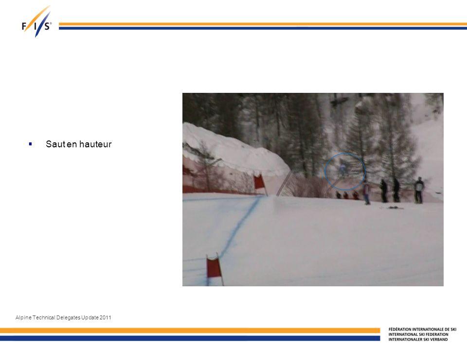 Saut en hauteur Alpine Technical Delegates Update 2011