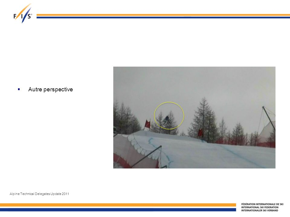 Autre perspective Alpine Technical Delegates Update 2011