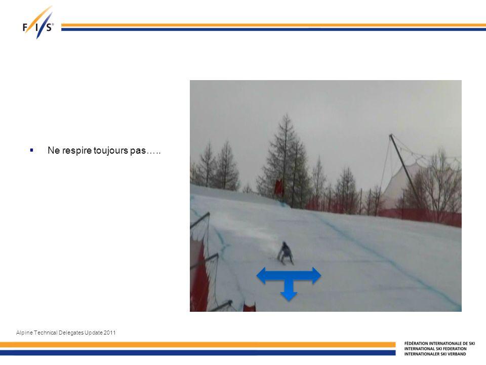 Ne respire toujours pas….. Alpine Technical Delegates Update 2011