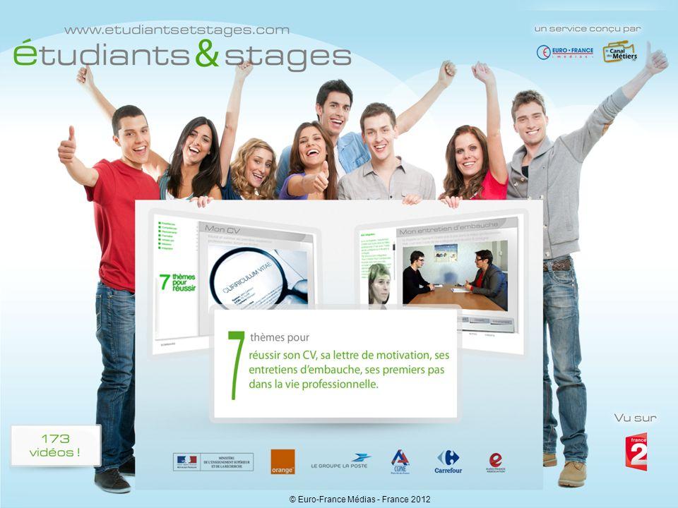 Etudiants et stages - A. Crindal - Euro-France Médias1 © Euro-France Médias - France 2012