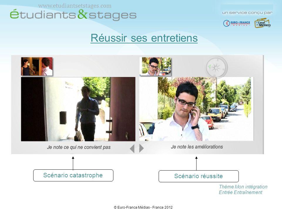 Des compléments Des documents Des liens Une notice détaillée © Euro-France Médias - France 2012 www.etudiantsetstages.com