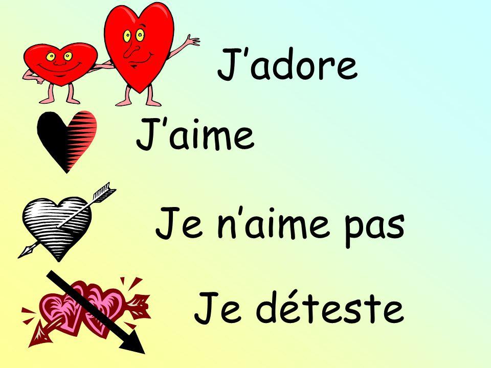 Je naime pas Jadore Jaime
