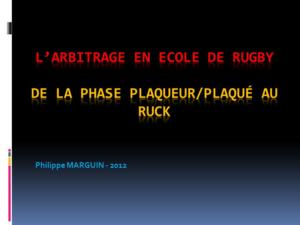 Philippe MARGUIN - 2012