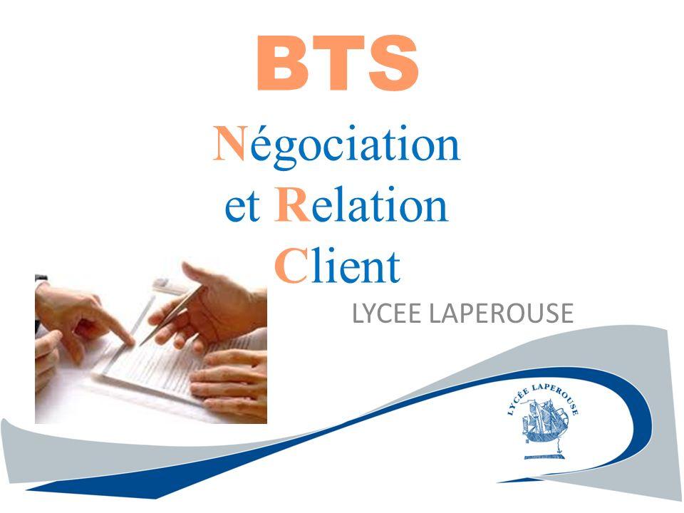 BTS Négociation et Relation Client LYCEE LAPEROUSE