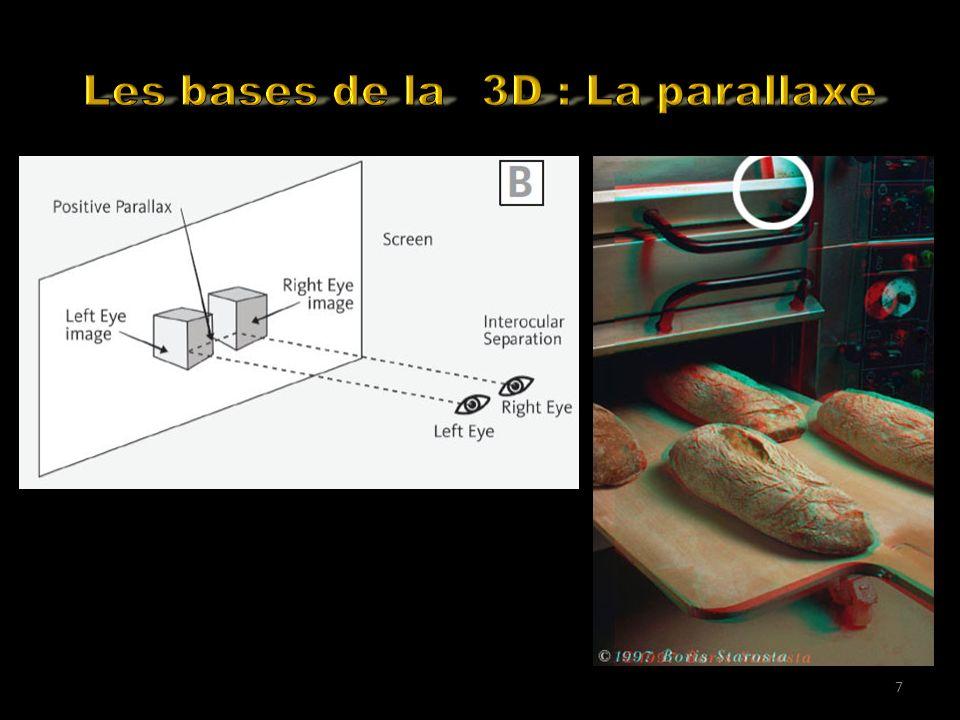 Many YouTube 3D Movies flavours Formats de fichiers stéréo supportés Monoscopique 2 fichiers séparés (gauche et droit).